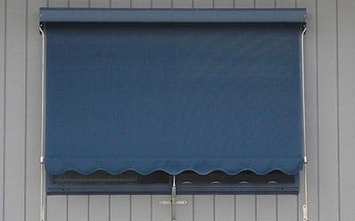 image of blue-sunblind
