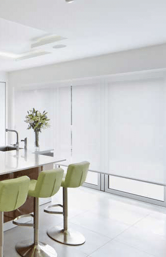 Image of A1Roller-Blinds-White