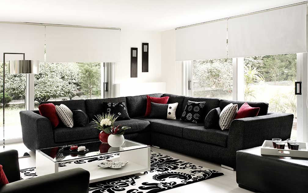 image of roller-blinds-product-living-area